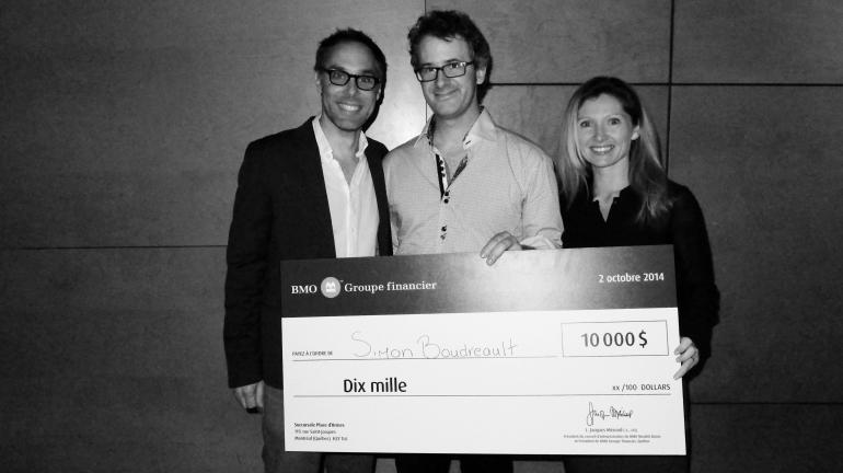 Prix Auteur dramatique BMO Groupe financier pour la pièce As is (tel quel)
