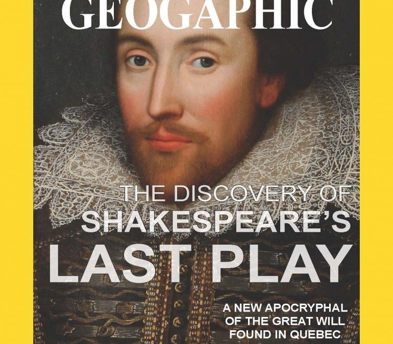 Shakespeare's last play found ?